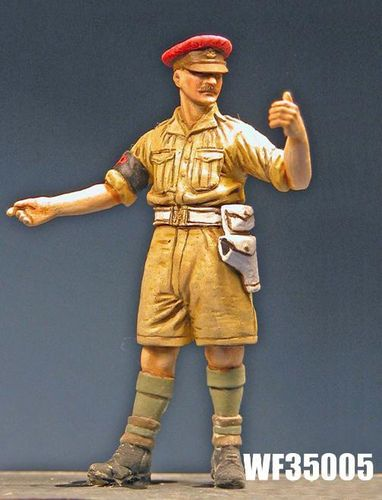 WF35005, 1/35th scale WWII British Military Policeman, Desert