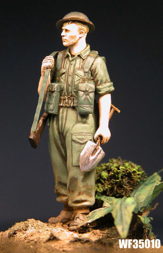 WF35010, 1/35th scale WWII British Infantryman Far East