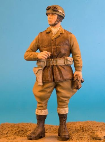 WF35019, 1/35th scale WWII British Dispatch Rider (N.W.E.)