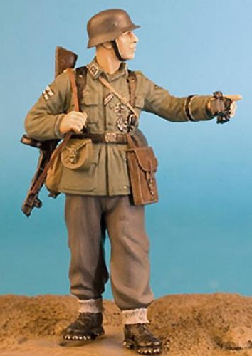 WF35020, 1/35th scale WWII German Infantryman with PPSH