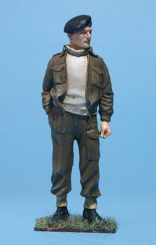 WF35035, 1/35th scale WWII British Tanker Battle Dress Relaxed