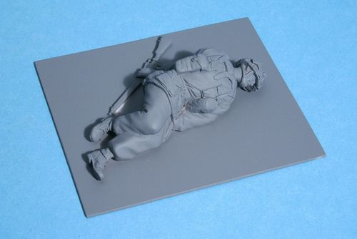 WF35043, 1/35th scale WWII British Para Lying Dead