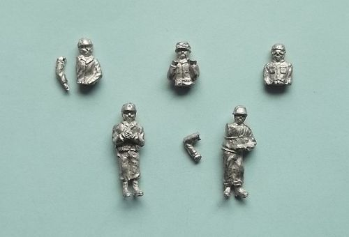 WFM72034, 1/72nd scale WWII US Tank Crew