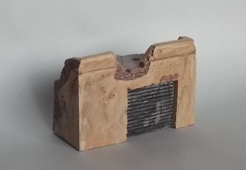WD72002, 1/72nd scale Ruin Building No. 2
