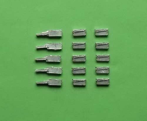 WBM72034, 1/72nd scale WWII German MG Ammo Boxes