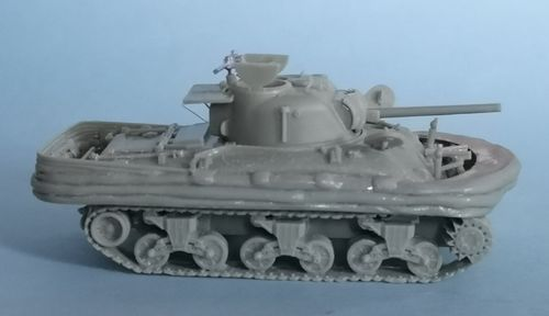 WV72008, 1/72nd scale M4A1 Sherman II DD (large hatch)